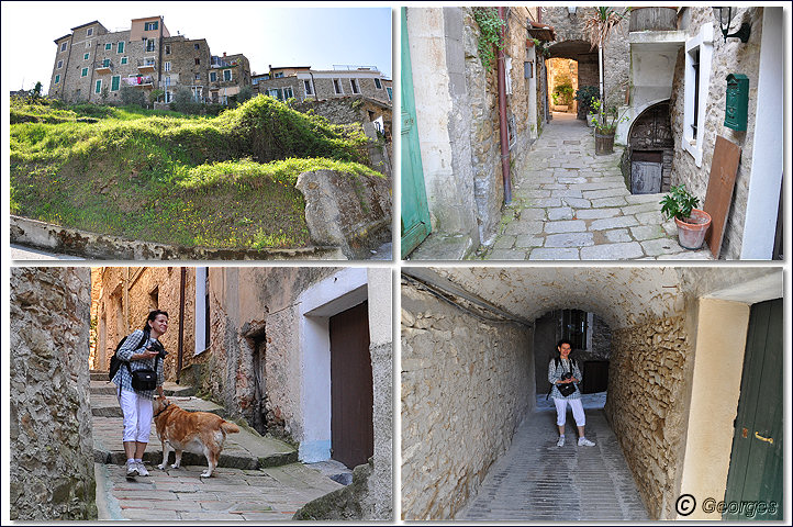 Perinaldo, bourg médiéval situé dans la Province d'Imperia (Ligurie) Italie Perinaldo25avril10_04