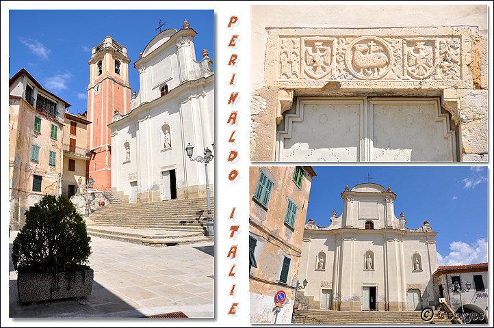 Perinaldo, bourg médiéval situé dans la Province d'Imperia (Ligurie) Italie Perinaldo25avril10_07