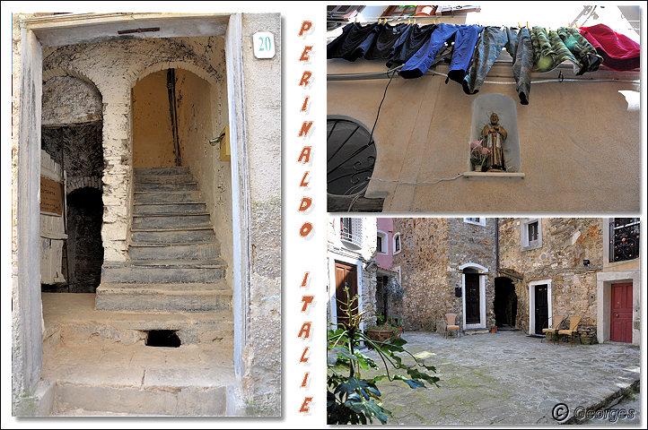 Perinaldo, bourg médiéval situé dans la Province d'Imperia (Ligurie) Italie Perinaldo25avril10_09