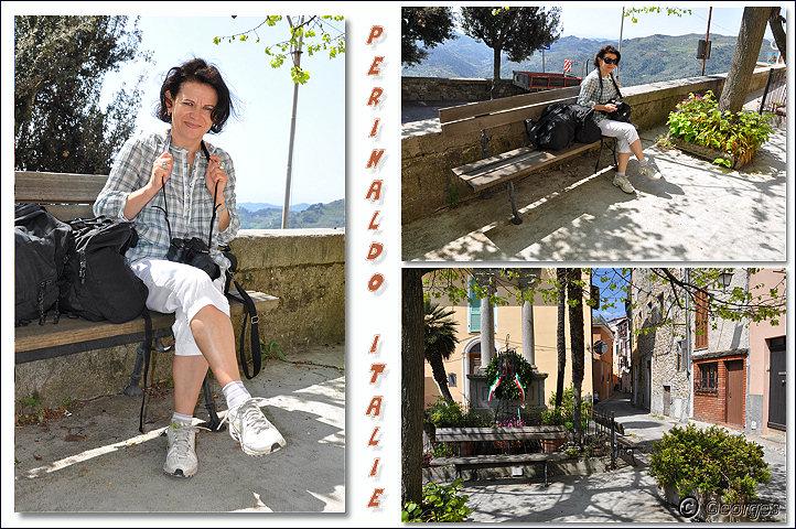 Perinaldo, bourg médiéval situé dans la Province d'Imperia (Ligurie) Italie Perinaldo25avril10_10