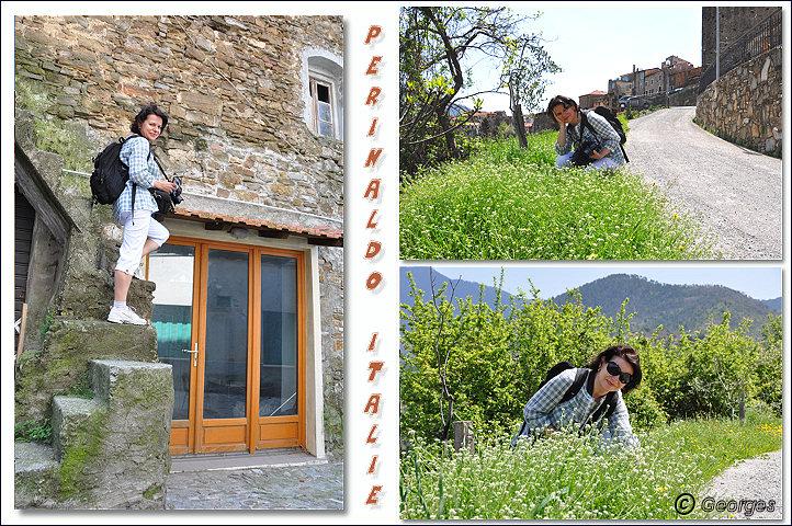 Perinaldo, bourg médiéval situé dans la Province d'Imperia (Ligurie) Italie Perinaldo25avril10_11